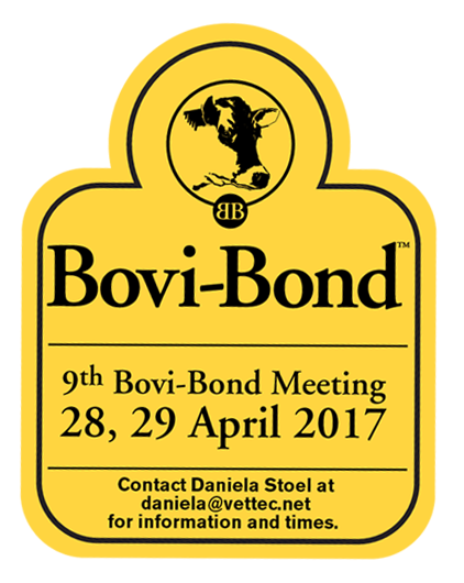 Review Bovi-Bond Meeting 2017 - Looking back on our Bovi Bond meeting, we would like to say THANK YOU again for your participation. This year's meeting was rather small, but fun! Having a smaller group for this year's lectures a great thing. There was a lot of information exchanged between the participants and the lecturer. The speakers had enough time to actually answer all the questions, and sometimes picked up the conversation at dinner and in the bar. It was fantastic to see so much information exchanged.Our next Bovi-Bond Meeting will be our 10th event - a reason to celebrate! Rest assured that we will come up with something special for you.