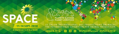 SPACE 2018    11-14 September 2018, Rennes / France    Rennes, France    Addidional stand info will follow soon