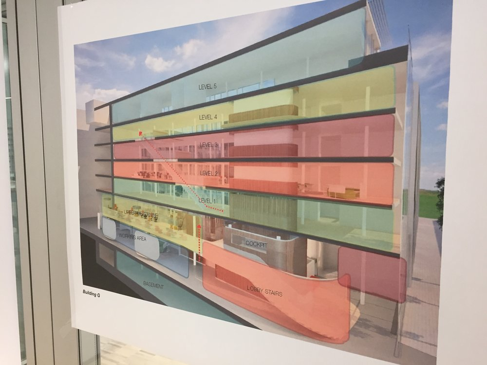 When finished the new customer experience centre will be a living example of Steelcase's design philosophy for the future of workplaces.