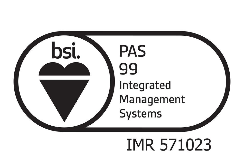 Integrated Management Registration PAS 99:2012