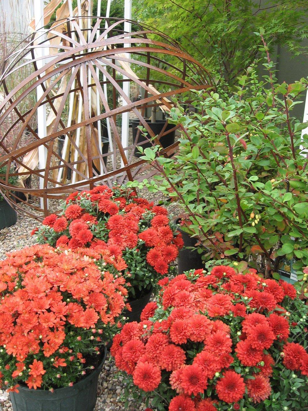 metal garden Accents -