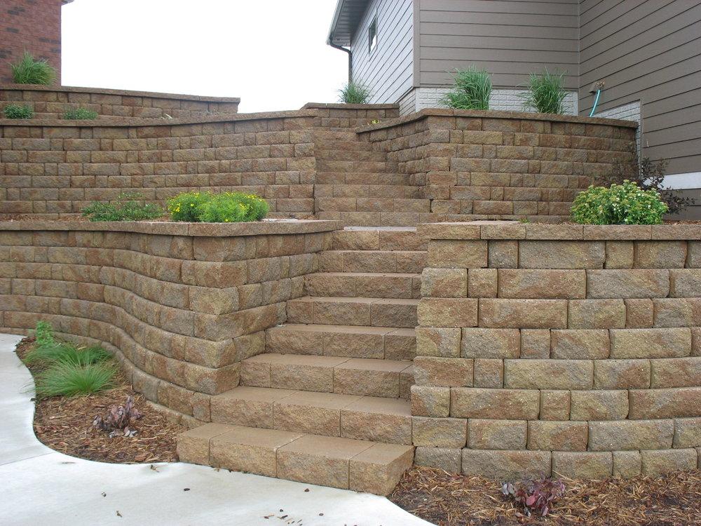 wall block -