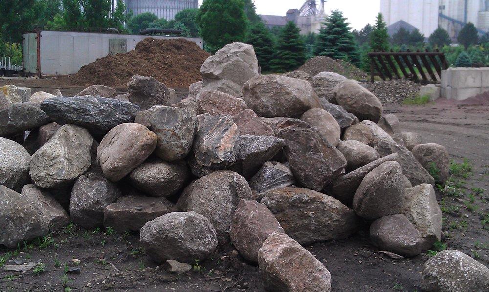 boulders -