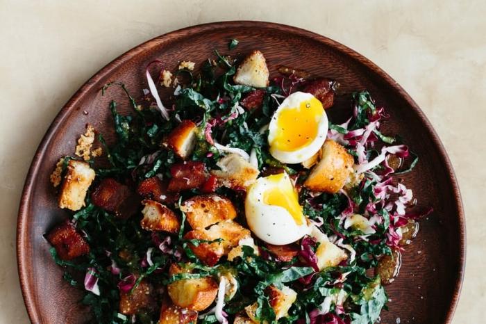 Kale Bistro Salad by Christine Han