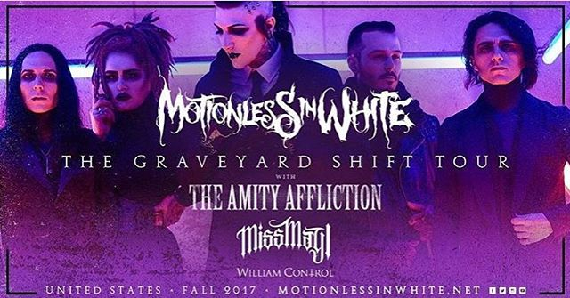 Thrilled to announce that @crillyashes will be destroying things for @williamcontrol again this fall—This time with @miwband! 🌹 #williamcontrol #neuromanticmovement #neuromanticboys #b🌹ys #crillyashes #adamcrilly #gothgoth #goth #motionlessinwhite #miw #ashestoangels #ashesfamily #bands #bandsarelife