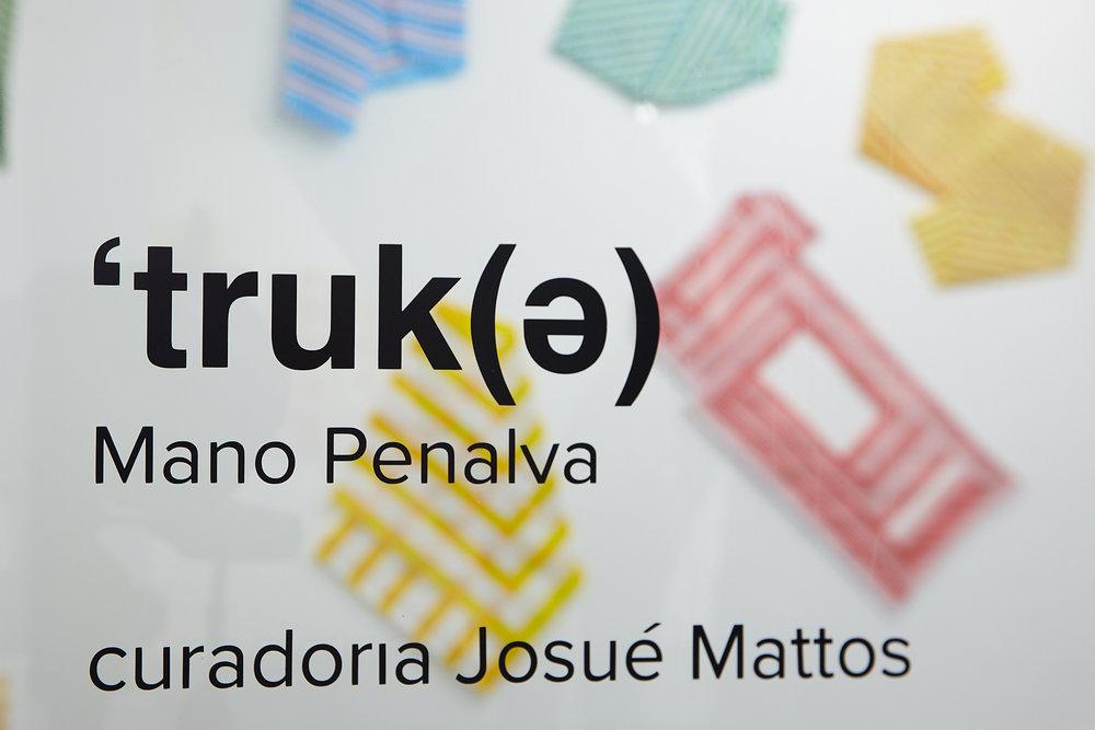Mano Penalva, Truk(e), Soma Galeria, Curadoria: Josué Mattos