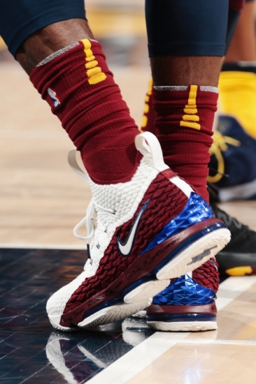 Honorable Mention: LeBron James, Nike LeBron 15 (Air Zoom Generation)