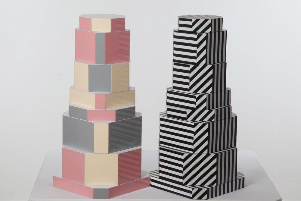 Ziggurat Containers
