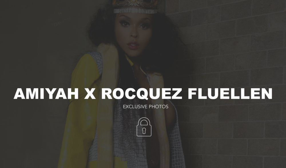 EXCLUSIVE PHOTOS | AMIYAH X ROCQUEZ FLUELLEN