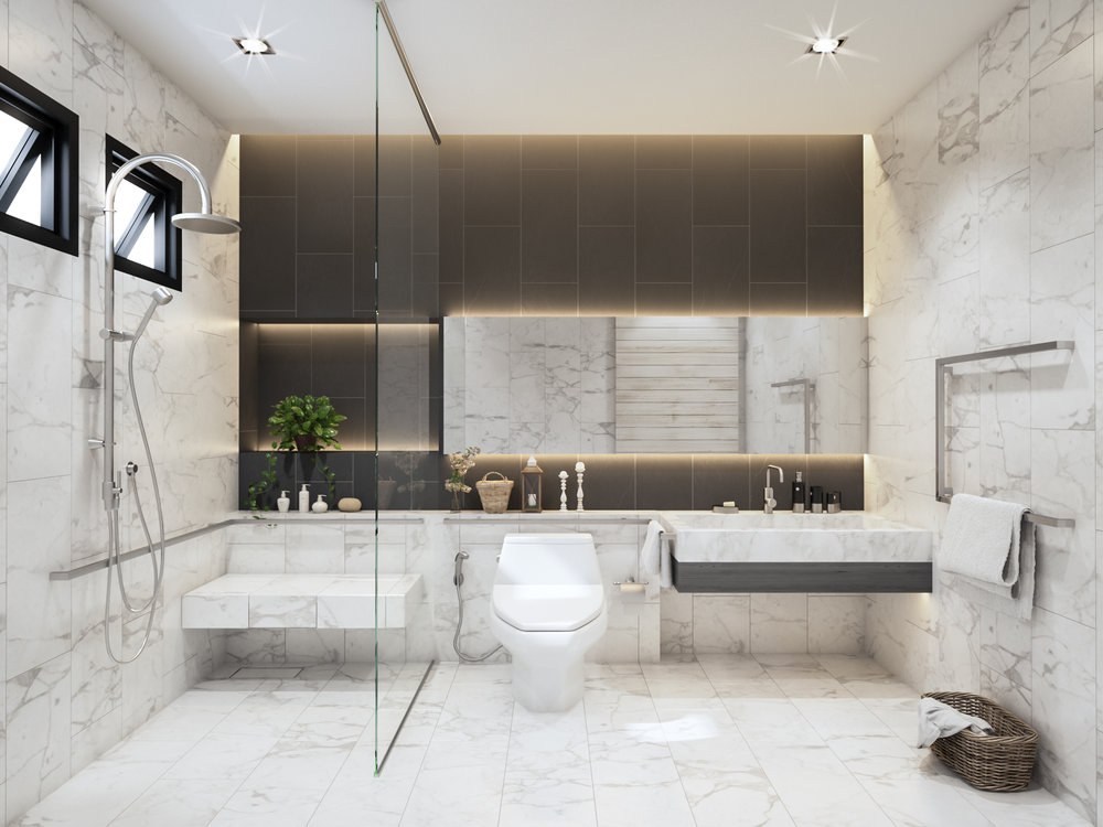 Enjoy the sound of silence as you soak in a calming bath with large door spaces make it east to access and wheelchair-friendly.