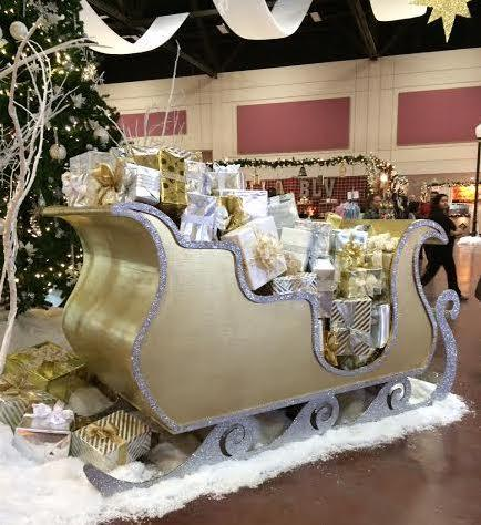 Santa's sleigh in all its glory