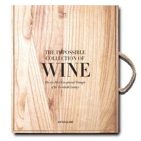 The Impossible Collection of Wine    Price: $945   Have a wine lover on your list? Then this is the perfect gift. Enrico Bernardo, the world's best sommelier, composes the perfect wine cellar amongst these exquisite pages.