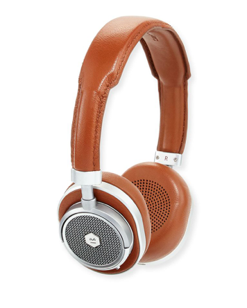 MW50 Wireless Over-Ear Head Phones    Price: $450   Headphones often appear on a wish list, so why not gift the ultimate in luxury headphones? These bluetooth headphones are designed to last for decades, while looking gorgeous in buttery leather.