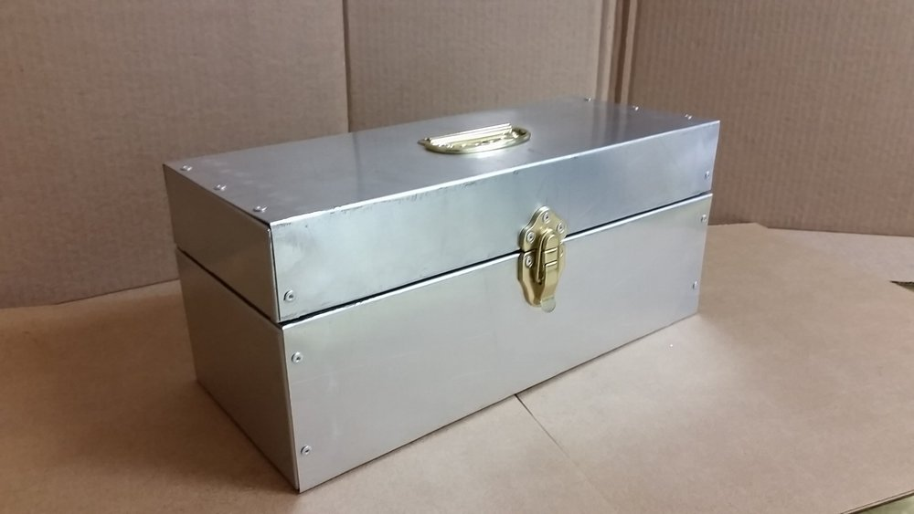 ALUMINUM SECRETS BOX