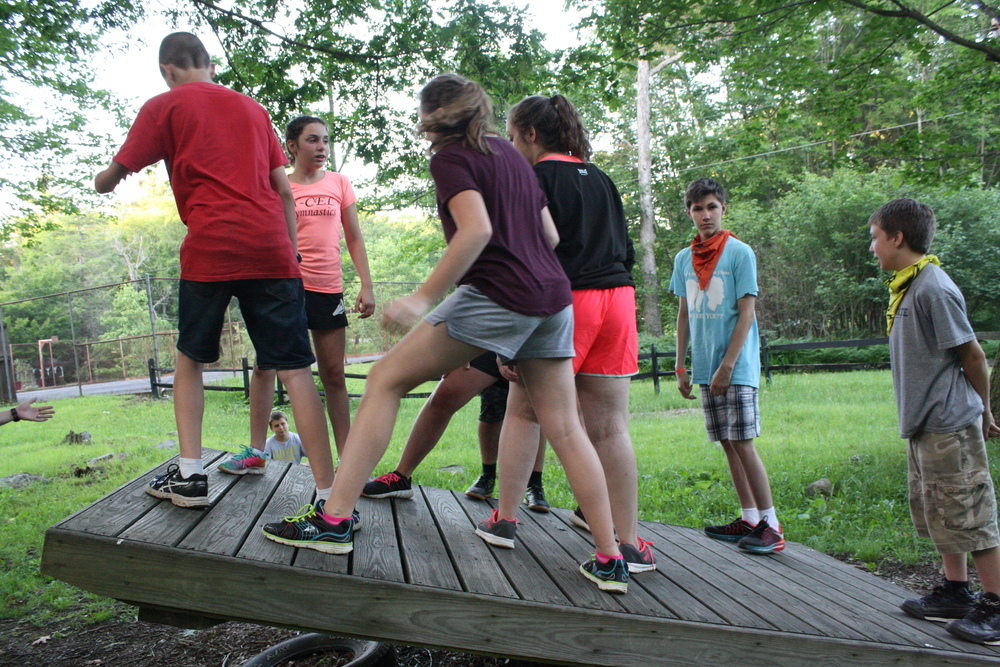 Camp Allegheny Challenge Course