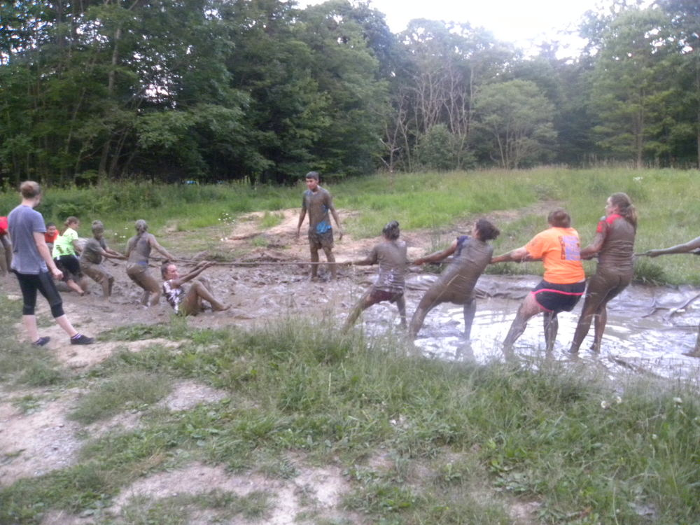 Camp Allegheny Mud Pit