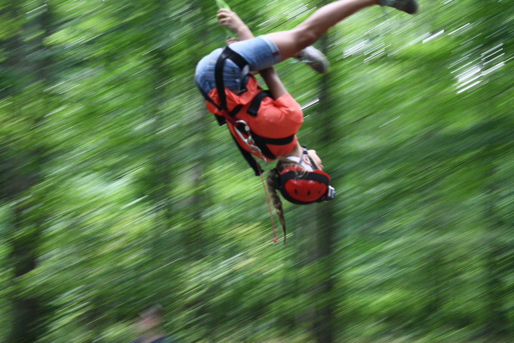 Camp Allegheny Giant Swing