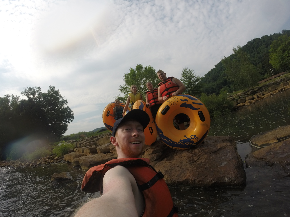 Camp Allegheny Tubing