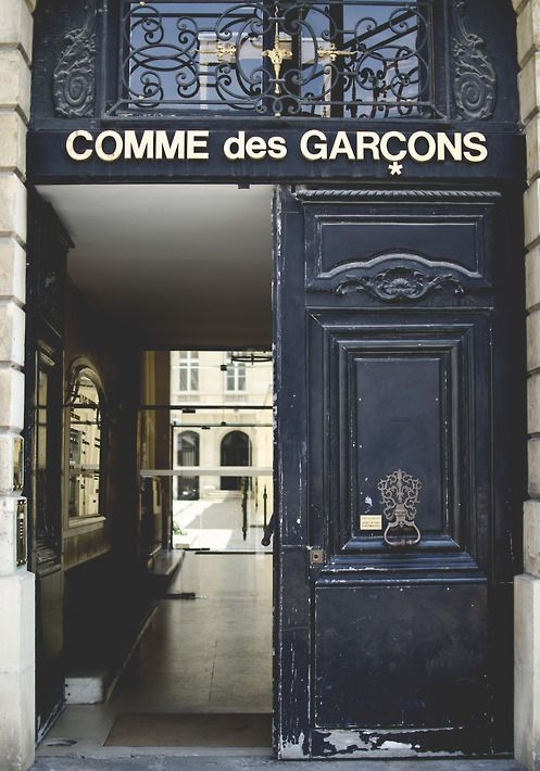 Comme Des Garcons Paris Entrance.jpg