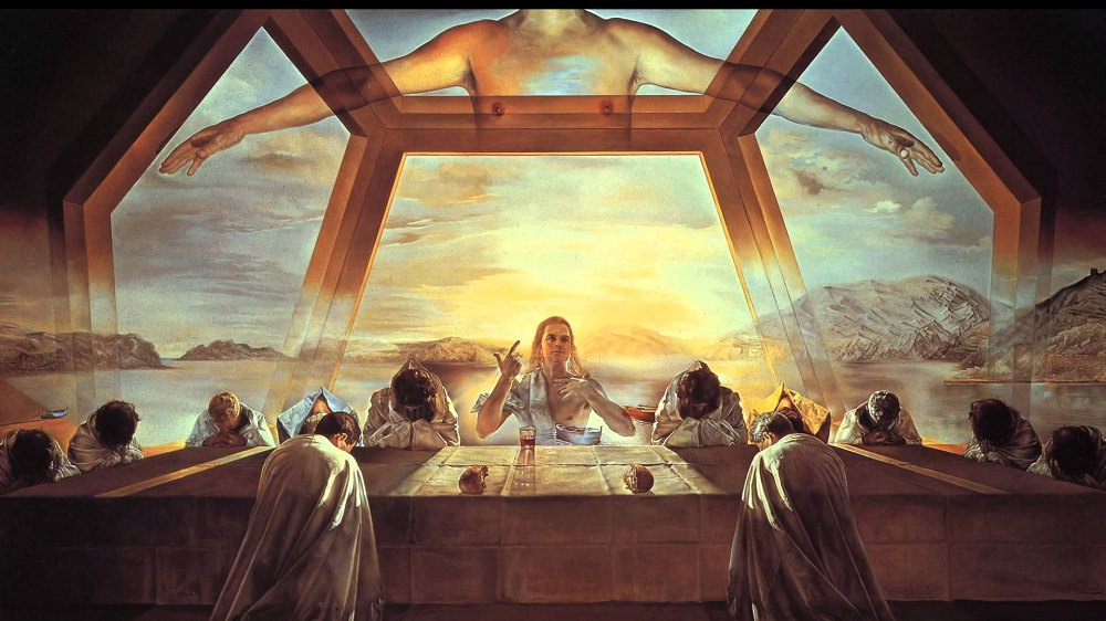 The Sacament of the Last Supper Salvador Dali.jpg