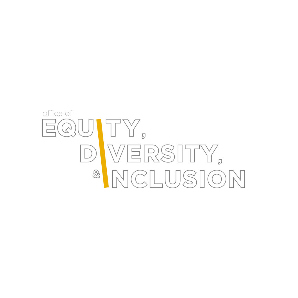 Logo design for MassArt's 'Equity, Diversity, & Inclusion Offices'