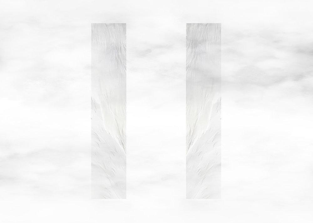 'Plinth Swan [White]' Poster Design