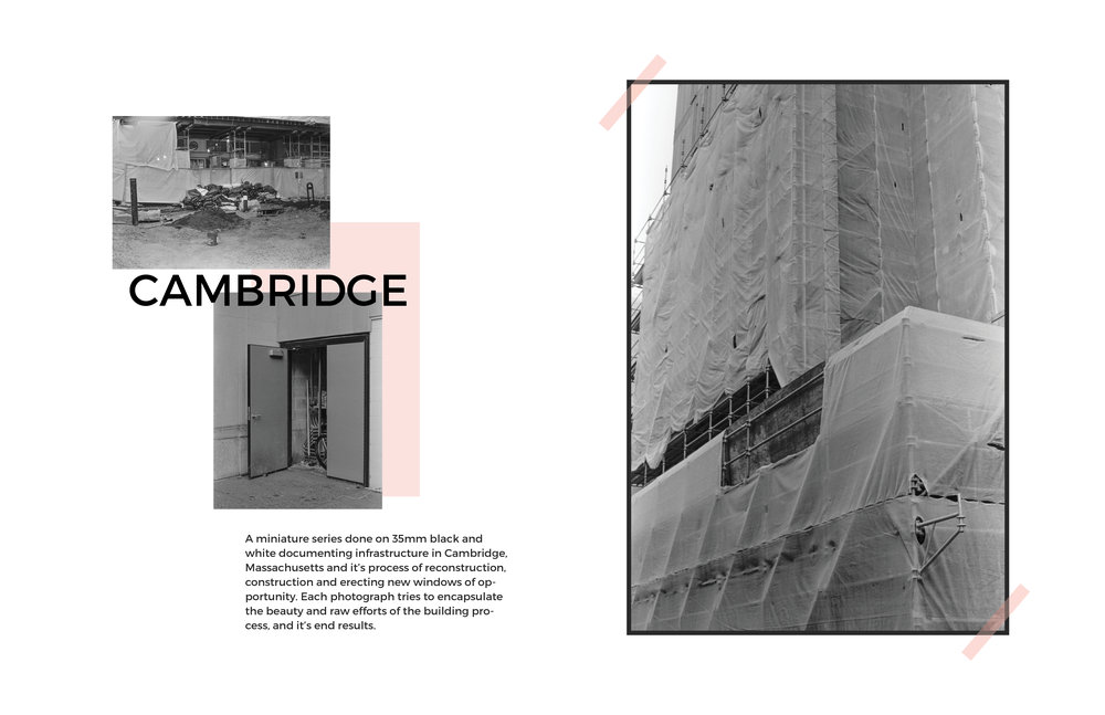 Cambridge Editorial Design Layout