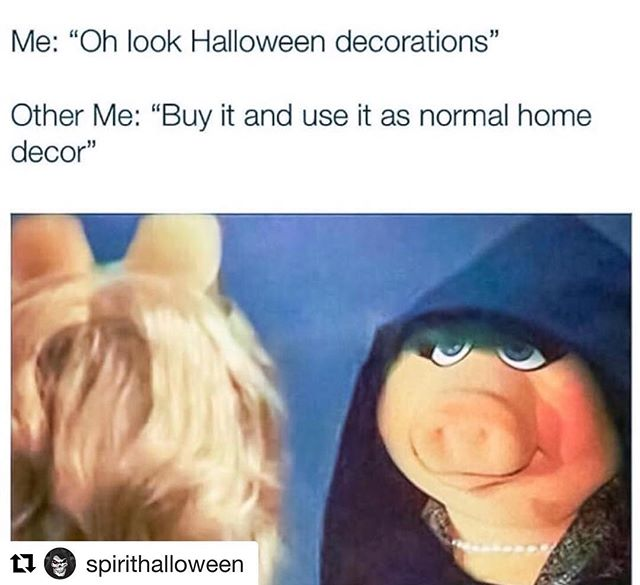 Yes I follow @spirithalloween and I'm proud so proud 🎃👽💀👻⚰️