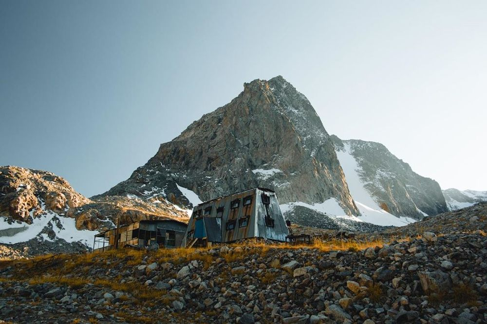 Abandoned Climbers Base Camp