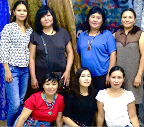 'Nobody beats the gals in Kyrgyzstan', — Susan
