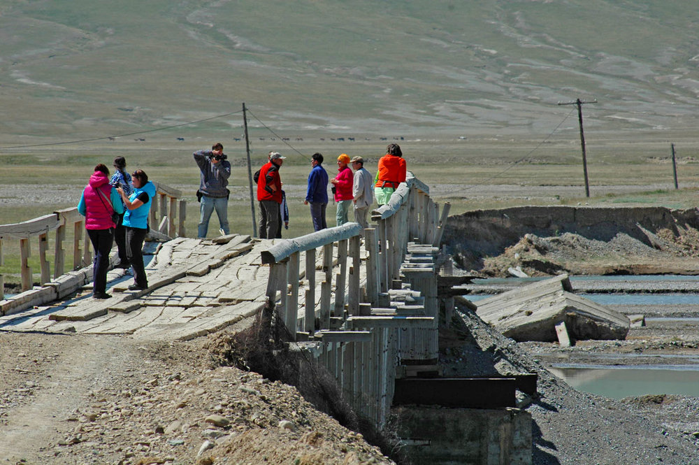 The bridge over Ak-Sai river, next to Chatyr-Tash Area.  Photo: Azamat Imanaliev