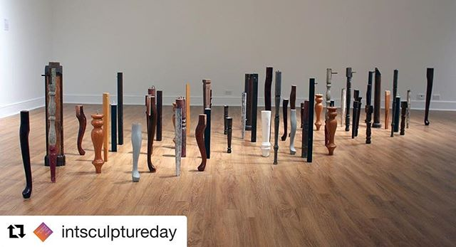 """Excited to have """"Last Leg"""" visit NJ as part of #internationalsculptureday hosted by @intsculpturectr.  #Repost @intsculptureday with @get_repost ・・・ The ISC invites you to celebrate International Sculpture Day our way! As a part of ISDAY we are exhibiting 5 of our student award winners!  An opening reception will be taking place on 4/28/19 at  Carole Feuerman, Sculptor 's Studio from 1-7pm.  #ISC #ISDAY  #Feuerman'sStudio @ellendempsey_studio @carolefeuerman"""
