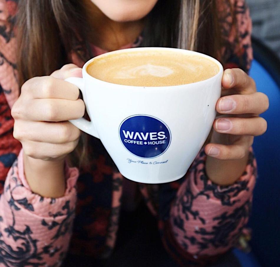 Free Coffee by Waves Coffee