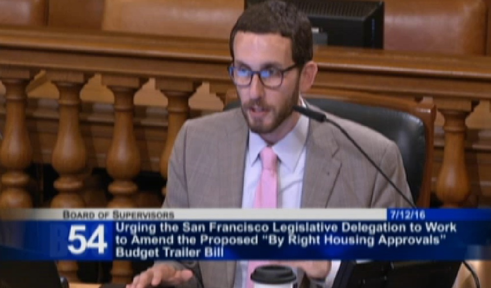Supervisor Scott Wiener, District 8
