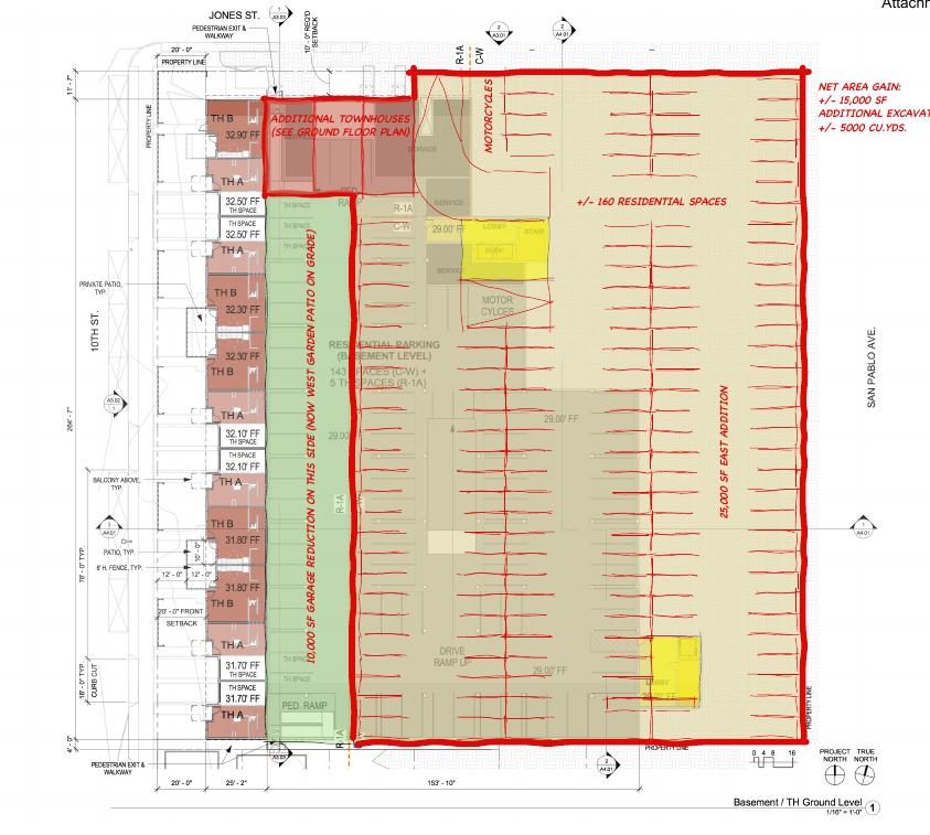 Alternate proposal designed by neighborhood opposition