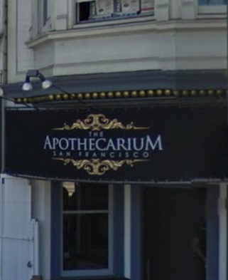 Current location of The Apothecarium on Market St., in the Castro District (source: Google Maps)