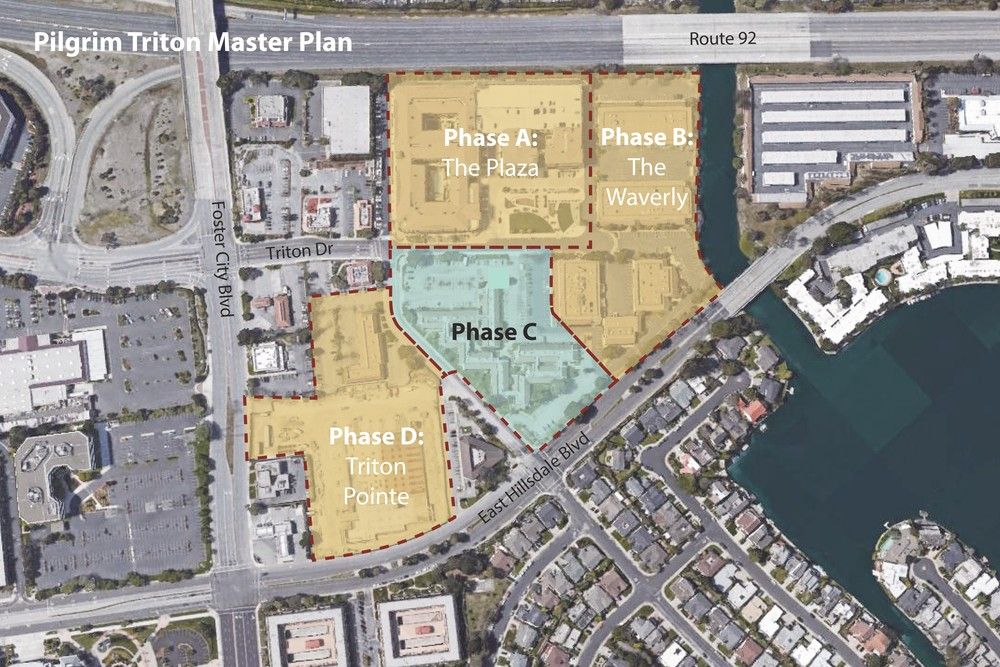 Master Plan for the site (courtesy: Sares Regis Group)