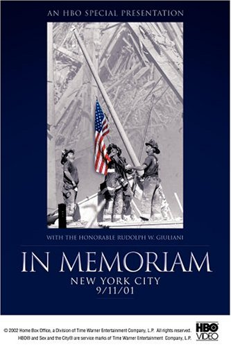 To purchase copies of HBO's In Memoriam: New York City 9/11/01   CLICK HERE