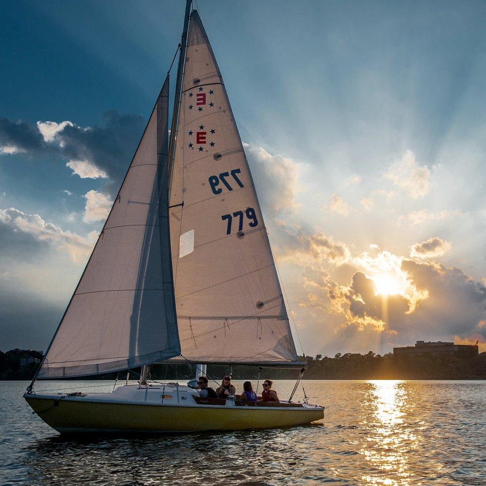 sailboat fleet minneapolis sailing center