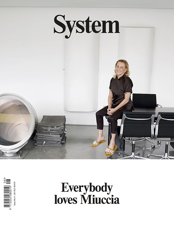 System: issue 8, Miuccia Prada
