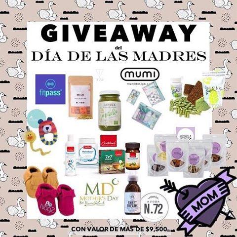 """🌻REGALO DEL DÍA DE LAS MADRES 🌻  Nos hemos unido para regalarte este super kit para festejar el día de las madres 💝  Requisitos para participar:  1. SÍGUEME.  2.DA """"ME GUSTA"""" A ESTA FOTO.  3. DIRÍGETE  Y SIGUE A @fitpassmx  4.REPITE LOS PASOS 1, 2  Y 3 HASTA REGRESAR AQUÍ.  5. Deja un comentario en el mismo indicando que terminaste y etiqueta a 2 amig@s para participar al doble (cuentas reales, NO BLOGGERS NO CELEBRIDADES)  6. Si quieres un super BONUS dale like a mis 3 ultimas fotos ❤  TU CUENTA DEBE SER PÚBLICA  El giveaway se cerrará el día 7 de Mayo a las 20:00 hrs cst. El ganador(a) será anunciado(a) en todas las cuentas el 8 de  Mayo. VERIFICAREMOS QUE SIGAN TODAS LAS CUENTAS por lo que sugerimos tengan sus cuentas abiertas.  De acuerdo a las reglas de INSTAGRAM debemos aclarar que esta actividad no es administrada o relacionada con Instagram Inc. ni con las marcas 🦄"""