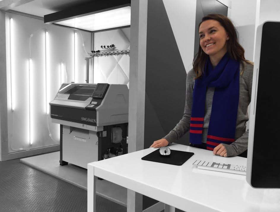 3D-knitting with Veronika Harbick