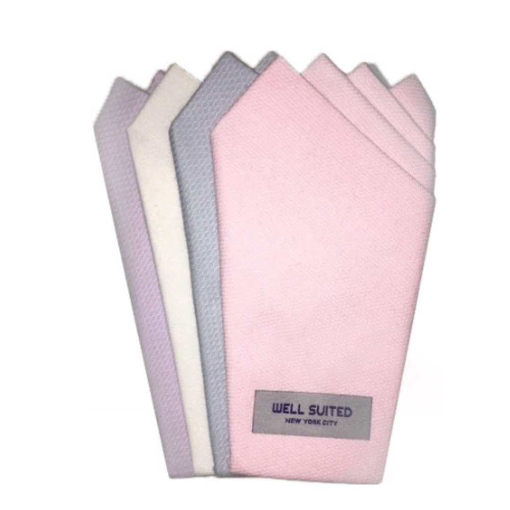 For the best stocking stuffer of the season, see the perfect pre-folded pocket squares at  Well Suited NYC .