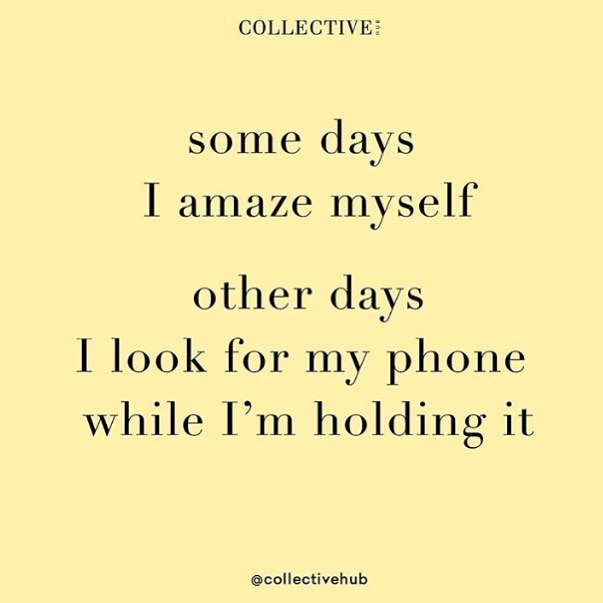 Here's to making Monday amazing @collectivehub 😂
