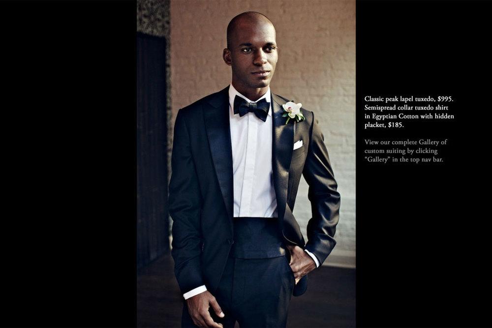 Custom Tuxedos | Nicholas Joseph