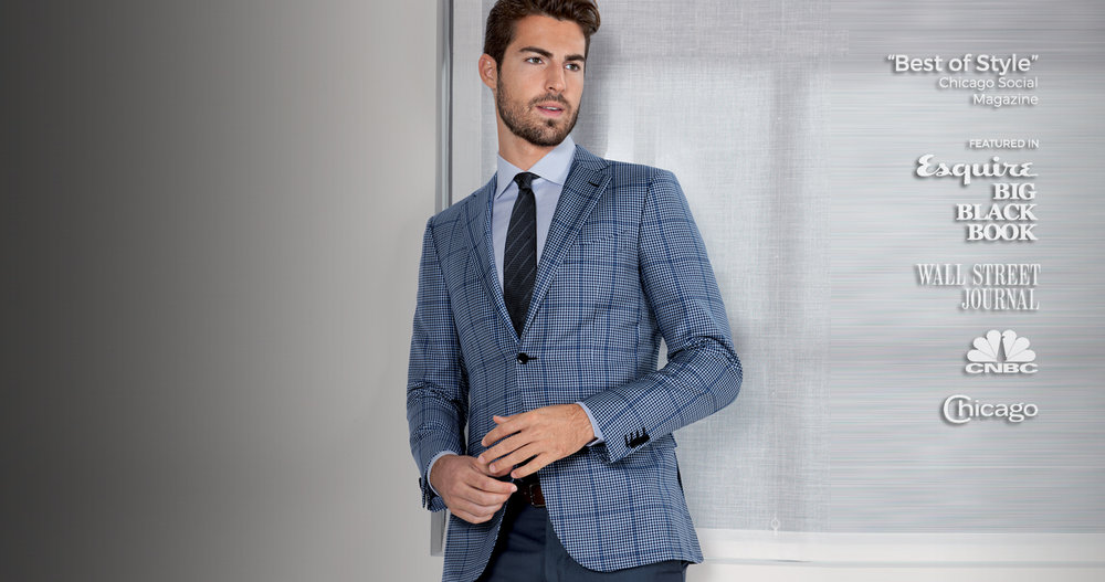 Chicago's Favorite Custom Suits since 2005