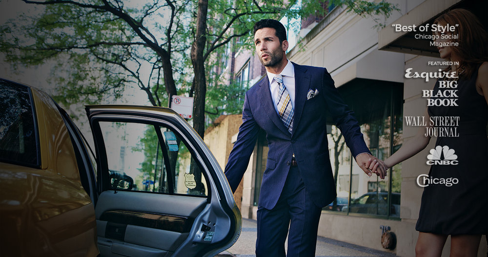 Make the Best Impression with a Perfectly Fit Custom Suit