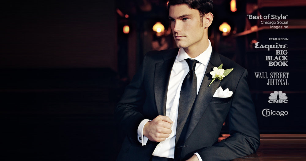 Gentleman's Rule: Own a Custom Tuxedo