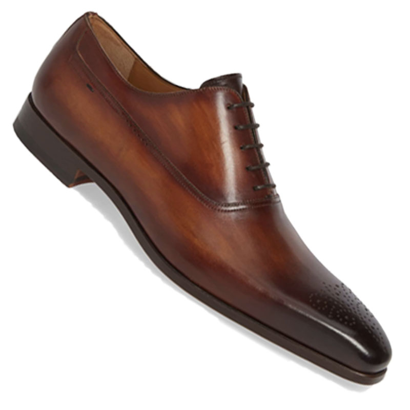 Dark Brown Oxford - The most versatile dress shoe works for your all non-black suiting: navy, blue, grey, light grey, khaki, or green suits. All of the shoes shown here are great additions to your footwear style after your Big Day.