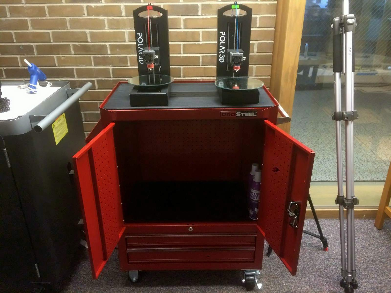 Polar 3D Print Station